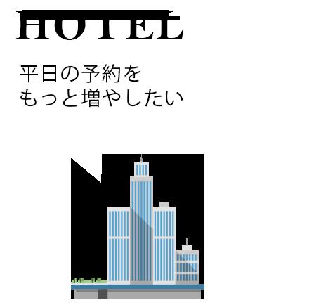 ホテルの悩み