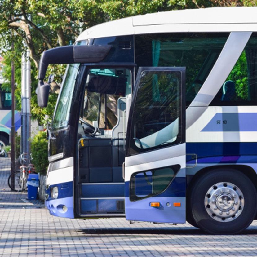 安全対策に努めるツアーバス会社