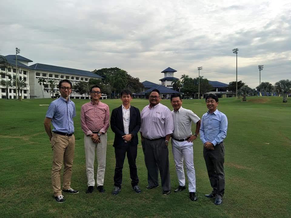 サンロイヤルゴルフクラブ様、マレーシア提携候補先へ視察訪問の写真01