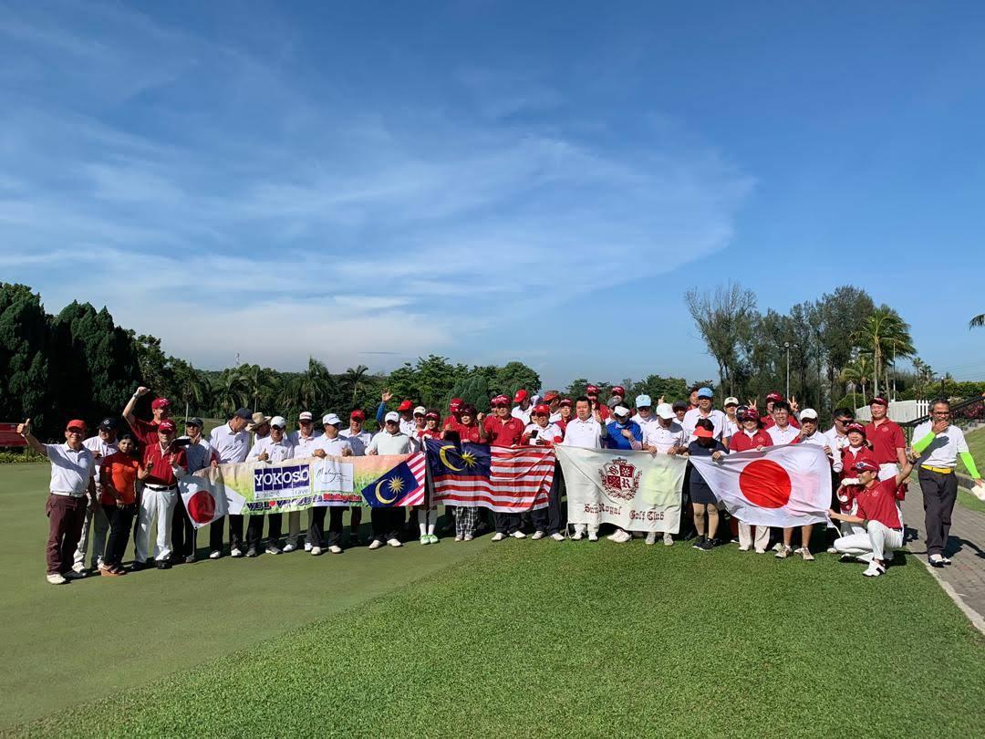 サンロイヤルゴルフクラブ様 開場30周年記念マレーシアクラブ交流旅行を実施!の写真01