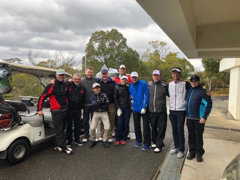 欧米からのゴルフ旅行事業者を対象とした「ゴルフFAMトリップ」に参加の写真01